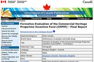 Formative Evaluation of CHPIF