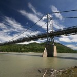 Liard River Bridge, Alaska Highway, BC. Contentworks, 2010.