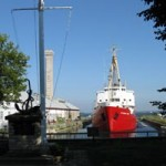 Drydock in Kingston, Ontario