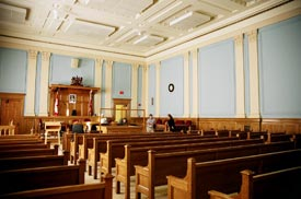 Thunder Bay Courthouse courtroom, 2006.